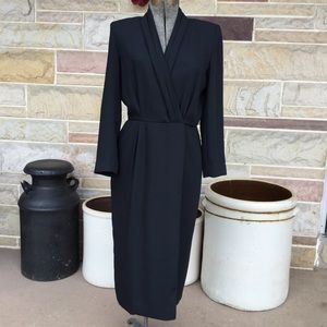 Liz Claiborne Mock Wrap Dress